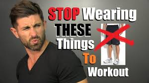 10 Things <b>Men</b> Need To STOP Wearing At The Gym! - YouTube