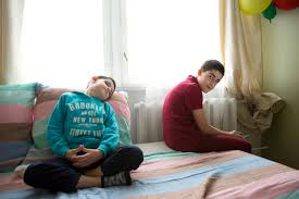 family from aleppo finds peace and quiet in a small n town mohamad and sami already know viljandi better than their mother and father because the life at the kindergarten and school helps to friends and learn