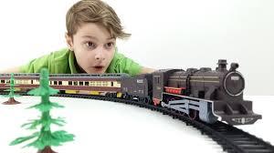 Большой поезд и железная дорога. ИгроБой Даня - YouTube