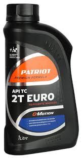 <b>Масло</b> для садовой техники <b>PATRIOT G</b>-<b>Motion</b> Euro 2T 1 л ...