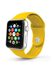 <b>Ремешок спортивный EVA</b> для Apple Watch 42/44 mm Желтый ...