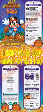 mickey s not so scary halloween party tips disney tourist blog 2016 guide tips mickeys not so scary halloween