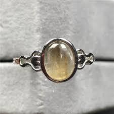 Подлинное натуральное <b>Золотое кольцо</b> с рутилированным ...