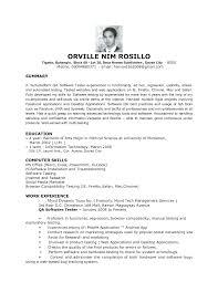 resume entry level resume  seangarrette co   resume for entry level qa tester entry level qa software tester resume sample monster entry level   resume entry level