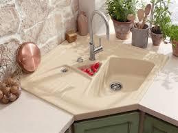 amazing corner kitchen sink