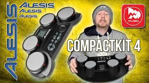 <b>ALESIS</b> COMPACTKIT 4 - детские <b>электронные барабаны</b> ...