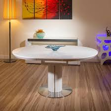 Oval Extension Dining Room Tables An Extending Dining Table In Oak Extendable Dining Tables