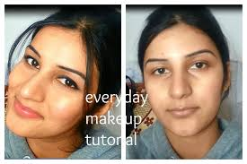 my everyday makeup routine n tutorial for indian brown olive tan skin tone affordable and easy