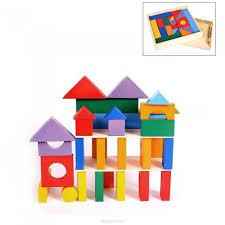 <b>Деревянная</b> игрушка <b>Paremo конструктор 35</b> деталей ...