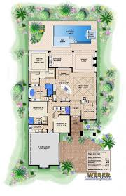 Spanish House Plan   Madeira House Plan   Weber Design GroupMadeira House Plan