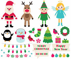 <b>christmas</b>-<b>cartoon</b>-<b>design</b>-elements-set-vector-id856967484 (1) -