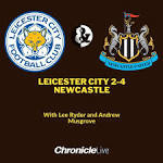 Steve Bruce's Entertainers - Newcastle United thump <b>Leicester City</b> ...