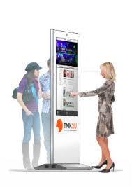 Интерактивные <b>сенсорные</b> столы и видео стойки