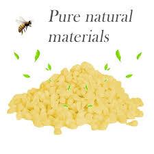 Yellow Bees <b>Wax</b> DIY <b>Wax</b> Candle Making Lipstick Material Natural ...