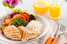 Resultado de imagem para um prato balanciado e proteico