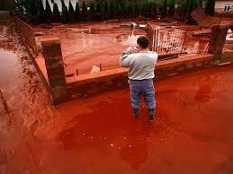 Image result for hồ chứa bùn đỏ