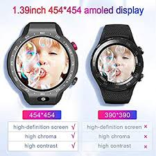 LEMFO LEM9, Dual Systems <b>Smartwatch</b> 4G LTE Phone Android ...