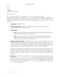 best photos of professional offer letter job offer rejection professional employment reference letter