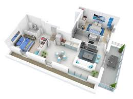 More  Bedroom D Floor Plans - Two bedroomed house plans