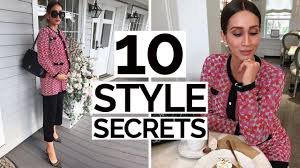 10 Style Secrets Only The Most <b>STYLISH Women</b> Know - YouTube