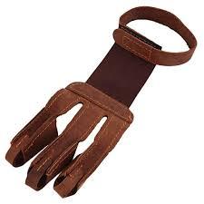 Amazon.com: <b>1PC 3</b>-<b>Finger</b> Design <b>Archery</b> Protect Glove Pull <b>Bow</b> ...