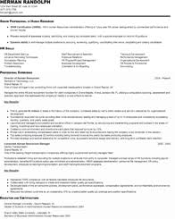 hr resume sample entry  seangarrette cohr resume