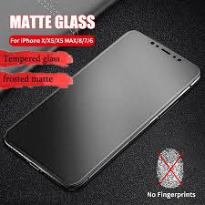 <b>Frosted Matte</b> Glass <b>9H</b> 0.26mm Protective On The For IPhone 6 6s ...