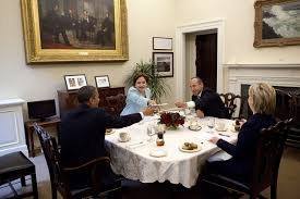 Family Dining Room Fileobama Clinton Caldera3n Espinosa In Private Family Dining Room