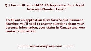 how to fill out a nas2120 application for a social insurance how to fill out a nas2120 application for a social insurance number form