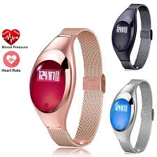 MOCRUX <b>Z18</b> Women Fashion Smart Watch With Blood Pressure ...