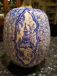 13 Best chinoiserie <b>blue</b> and <b>white hand painted</b> pumpkins, <b>blue</b> ...