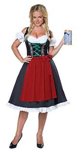 California Costumes Women's Oktoberfest Fraulein ... - Amazon.com