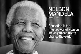 Nelson Mandela – a strong believer in Education | clubclass Blog via Relatably.com