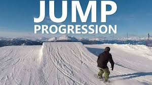 Beginner <b>Snowboard Jump</b> Progression with Doug - YouTube