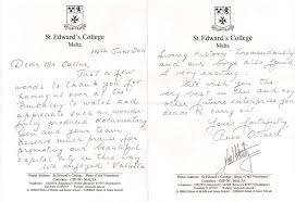 thank you letter to teacher from college student thank you