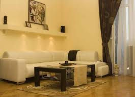 warm living room ideas: living room engaging lightning setup make warm livingroom color