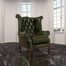 chesterfield newby high back wing chair uk manufactured antique green chesterfield presidents leather office chair amazoncouk