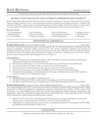 budget analyst resume is one of the best idea for you to make a good resume 12 budget analyst resume sample