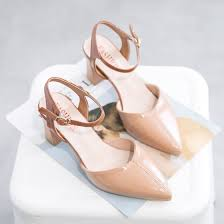Shop <b>Women's shoes</b> spring <b>pointed</b> shallow mouth high heeled ...