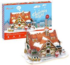<b>CubicFun</b> Пазл <b>Рождественский домик</b> 1 — купить в интернет ...
