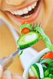 si a la comida saludable