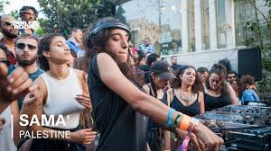 Sama' DJ Set | Boiler Room Palestine - YouTube