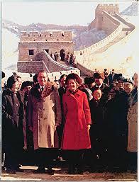 「リチャード・ニクソンアメリカ大統領が中華人民共和国を訪問」の画像検索結果