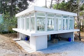 Concrete Block  ICF Design Modern House Plans   Home Design       House Plan