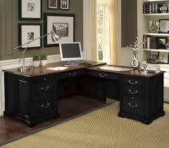 desk home office chic l shape of best home office desk made of wooden material with black desk vintage espresso wooden