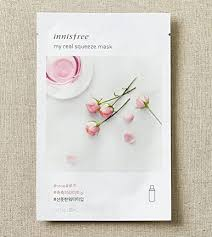 <b>Innisfree My Real</b> Squeeze Mask-Rose: Amazon.in: Beauty