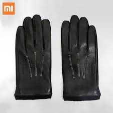 Xiaomi <b>Supield Aerogel Cold</b> Resistance Genuine Leather Gloves ...