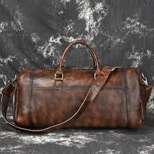 MAHEU/мужские дорожные <b>сумки</b> из мягкой воловьей кожи в ...