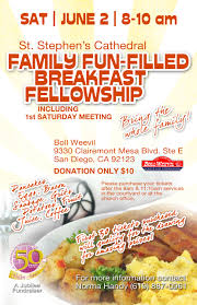 breakfast fundraiser flyer ststephensjubilee advertisements