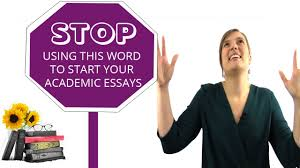 what is the worst word to use at the start of your ielts task  what is the worst word to use at the start of your ielts task 2 essay lesson 1